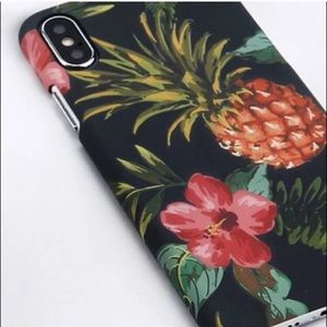 NEW IPhone 7 Tropical Pineapple Phone Case